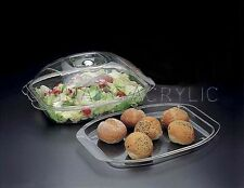 Huang Acrylic Bowl and Tray 3-in-1 W/Dome (1328)