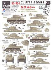 Star Decals 1/35 U.S. 44th TANK BATTALION IN THE PHILIPPINES