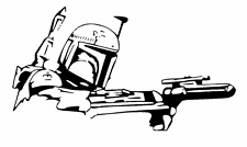 Decal Vinyl Truck Car Sticker - Star Wars Boba Fett