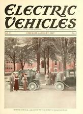 43 issues ELECTRIC VEHICLES MAGAZINE antique classic old cars trucks 1913-1917