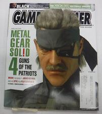 Gameinformer Magazine Metal Gear Solid 4 No.152 December 2005 081215R
