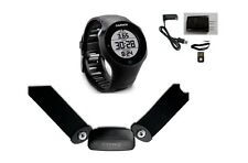 New Garmin Forerunner 610 Touchscreen GPS Heart Rate Monitor Fitness Watch-Black