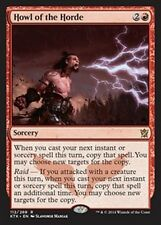MTG Magic KTK FOIL - Howl of the Horde/Hurlement de la horde, English/VO