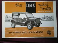 POSTCARD THE BMC MINI MOKE