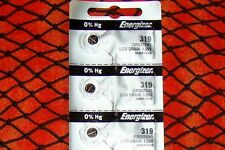 3 Pieces 319 Energizer Watch Batteries  FREE Shipping