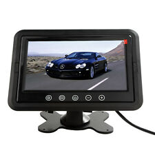 HD 7 Inch Ultra Thin TFT-LCD Color 2-CH Headrest Car Rear View Monitor - US