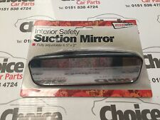 "Rear View Windscreen Suction Mirror - 6"" x 2"" Learner Drivers"