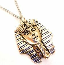 King Tutankhamun Mask Amulet Pendant Necklace Egyptian Jewels of Atum-Ra JA13