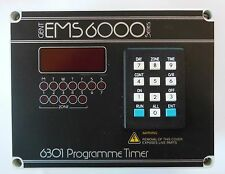 GENT 6301 PROGRAMMABLE TIMER  EMS 6000 SERIES