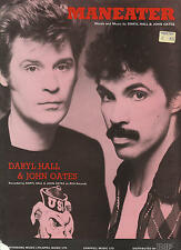 Maneater - Daryl Hall & John Oates - 1982 Sheet Music