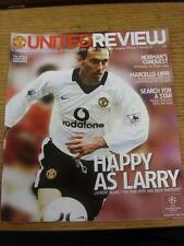 19/02/2003 Manchester United v JUVENTUS CHAMPIONS LEAGUE []. l'oggetto in ottime c