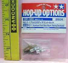 HOP-UP OPTIONS R/C RADIO CONTROL CAR RD F-1 ALUMINUM FRONT BODY MOUNT PART 53120