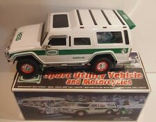 Hess 2004 Sport Utility Vehicle and Motorcycles Used in Box w/ ORIGINAL HESS BAG