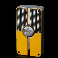 New COHIBA Classic 3 TORCH JET FLAME Metal LIGHTER CIGAR CIGARETTE With PUNCH