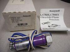 HONEYWELL C7027A 1023 MINI-PEEPER UV FLAME DETECTOR TEMP 0 TO +215F 1/2IN FEMALE