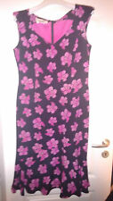 RED CARPET ESCADA LUXUS SOMMER dress AEIDEN Kleid pink silk 40/42 NP980 M L US 8