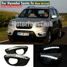LED Daytime Running Light For Hyundai Santa Fe IX45 DRL Fog Lamp 2010 2011 2012