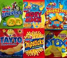 TAYTO Selection (24 packs) incl Snax, Cheese & Onion, Chickatees, Mighty Munch