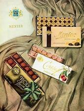 ▬► PUBLICITE ADVERTISING AD Chocolate Chocolat MENIER