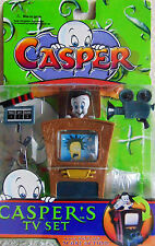 Casper TV Set ~ With  Pop Up Scare Action Trendmasters 1997 Hide & Seek