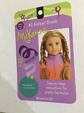 American Girl Doll of the Year McKenna Warm Up Outfit Fishtail Braids Card
