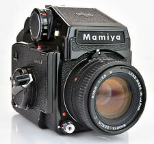 Mamiya M 645 J with 80mm f2.8 SEKOR C Lens and Metered Prism Medium Format *