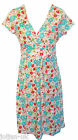 NEW LADIES BODEN FLORAL PRINT COTTON JERSEY DRESS SIZE 8 10 12 14 16 18 BNWOT