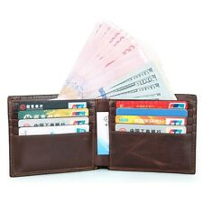 J.M.D Mens RFID Blocking Leather Brifold Wallet Front Pocket Credit Card Holder