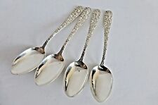 Antique Stieff Sterling Silver Spoons set of 4