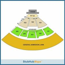 Mumford & Sons Concert Tickets (2) 09/28/16 Fiddlers Green Englewood,CO