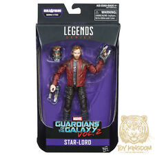 """STARLORD - Marvel Legends 6"""" Guardians of the Galaxy Vol. 2 Figure BAF TITUS NEW"""