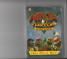 NINJA TURTLES THE NEXT MUTATION EAST MEETS WEST DVD 5 PARTS