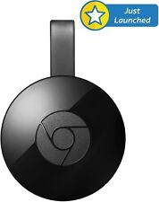Google Chromecast 2nd GEN Media Streaming Player Black Google India Warranty