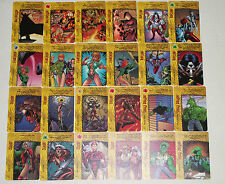 IMAGE OVERPOWER SPECIAL CARD LOT (24 CARDS) TIFFANY, ZEALOT, RIPCLAW, FAIRCHILD