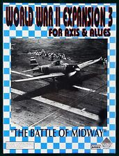 Axis & Allies World War II - Expansion 3 RARE Gamers Paradise Battle of Midway