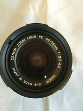 VINTAGE CANON ZOOM MACRO 28-55mm 1:3.5-4.5  MANUAL FOCUS LENS