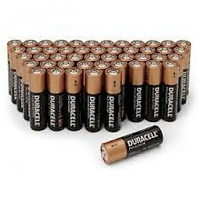 AA Batteries - - Duracell Brand... Pack of 48 Bateries