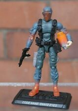 Action Force/GI Joe 25th Anniversary Radioactive Snake Eyes