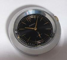 Vintage Soviet USSR Men's Mechanical watch POBEDA UFO BLACK 1980s UNUSUAL CASE