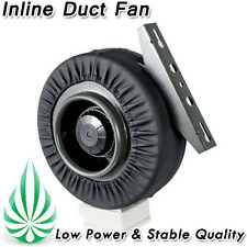 """HYDROPONICS 8"""" INLINE CENTRIFUGAL EXHAUST DUCT FAN BLOWER STRONG VENTILATION"""