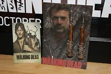 "**2 SETS** Negan ""Lucille""/Daryl Dixon Angel Wings~~Earrings~~The Walking Dead~~"