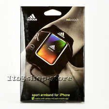 Griffin Adidas Micoach Sport Active Gym Armband Case for iPhone SE 5s 5C (Black)