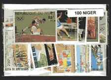 Niger 100 timbres différents