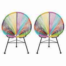 Acapulco Lounge Chair, Multicolor, Set of 2