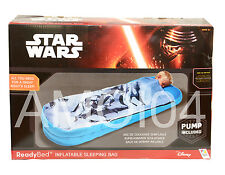 Star War Ready Bed Kids Sleeping Bag Solution - Portable, Air Mattress *New