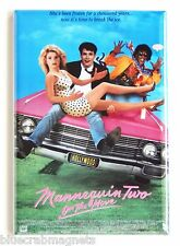 Mannequin 2 On the Move FRIDGE MAGNET (2.5 x 3.5 inches) movie poster