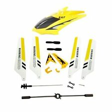 Syma Full Replacement Parts Set Head Cover for Syma S107G RC Helicopter Yellow