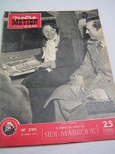 Notre métier 1951 290 EDITH PIAF NEUFCHÂTEL EN BRAY PUNIèRES CHAUMONT BRIANçON