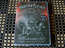 1 4 U: Motorhead : The World Is Ours - Vol 1 Everywhere Live 2010 & 2011 Sealed