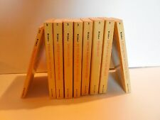 """Lot of 9 """"Little House"""" Novels by Laura Ingalls Wilder (Complete )"""